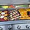 Thumbnail: 5 Burner 40 Inch Stainless Steel Built In BBQ Grill with Infrared Back Burner