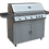 Thumbnail: Professional 5 Burner 40 Inch Cart Model BBQ Grill With Lights & Locking Casters