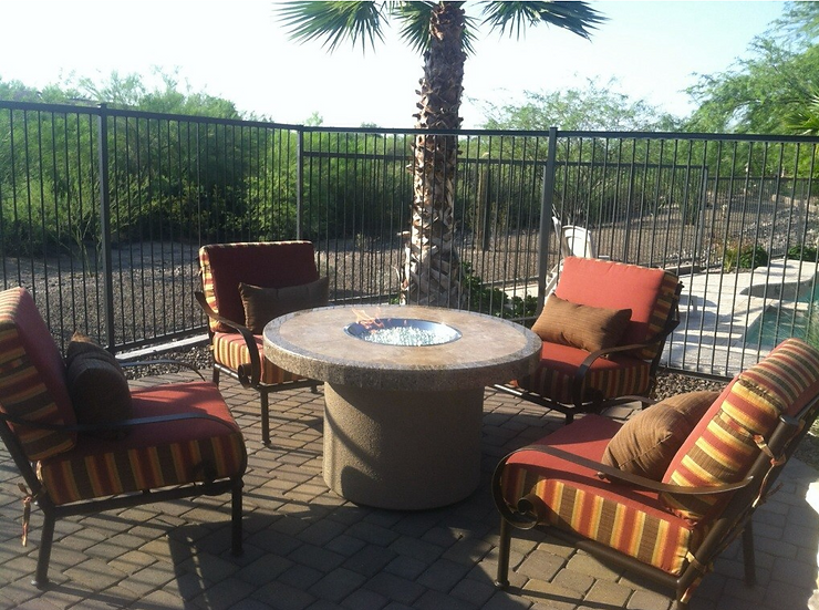 Bahama Outdoor Fire Table