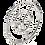 Thumbnail: Athena Three Spoke Stainless Steel Fire Ring
