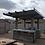 Thumbnail: BBQ Island with Pergola 4 Burner BBQ Grill Wood Siding and Fan