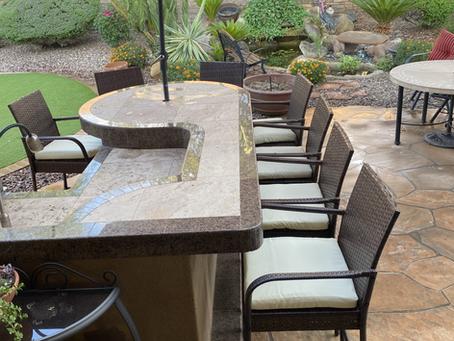 Outdoor Kitchen Barstools