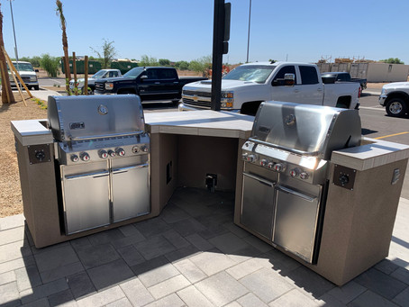 BBQ Area For Commercial Property