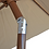 Thumbnail: 9' Outdoor Kitchen Umbrella Hand Crank and Tilt Beige Color