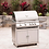 Thumbnail: Blaze 32-Inch 4-Burner Gas Grill With Rear Infrared Burner