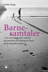 Forside bok Emilie Kinge - Barnesamtaler
