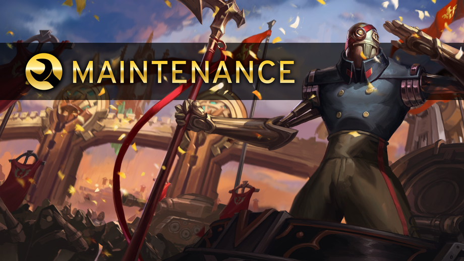 Maintenance Notice 12/14