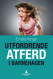 Forside bok Emilie Kinge Utfordrende atferd i barnehagen