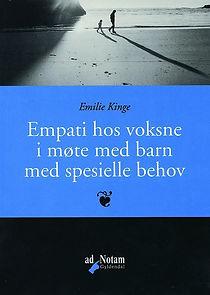 Forside bok Emilie Kinge - Empati hos voksne i møte med barn med spesielle behov