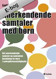 Forside bok Emilie Kinge  - Anerkendende samtaler med børn