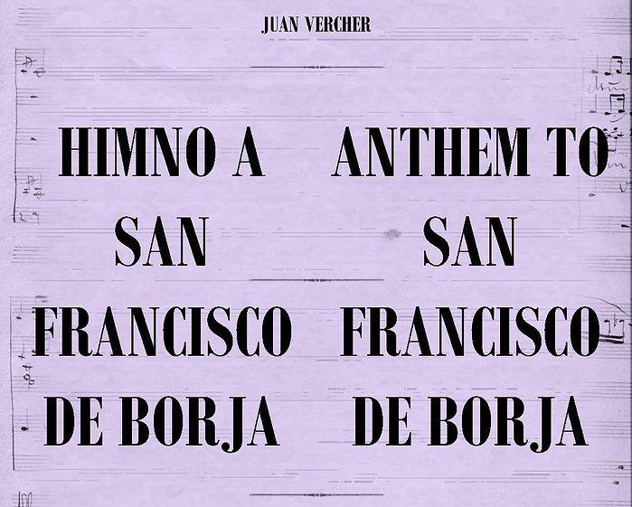 Himno a San Francisco de Borja - Juan Vercher