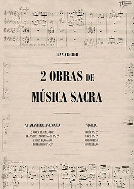 2 OBRAS de MÚSICA SACRA