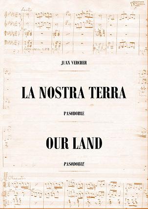 Pasodoble La Nostra Terra Juan Vercher