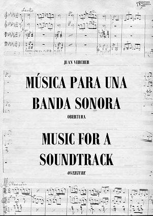 Obertura Música para una Banda Sonora Juan Vercher