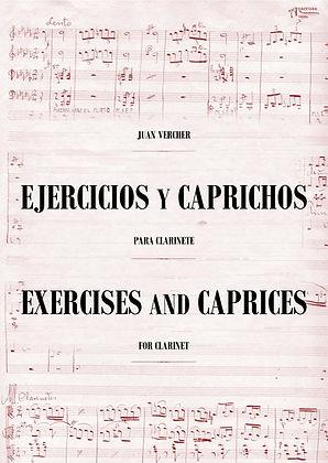 Ejercicios y Caprichos para Clarinete Juan Vercher