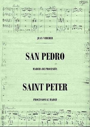 San Pedro Marcha de Procesión Juan Vercher