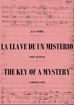 Poema Sinfónico La Llave de un Misterio Juan Vercher