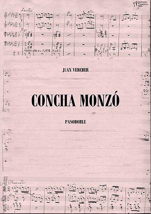 Pasodoble Concha Monzo Juan Vercher