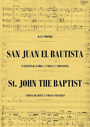 Cuarteto de Cuerda San Juan El Bautista Juan Vercher