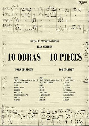 Método Clarinete Juan Vercher