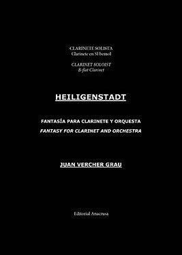 HEILIGENSTADT. Fantasía para Clarinete y Orquesta / Banda. Clarinete en Sib