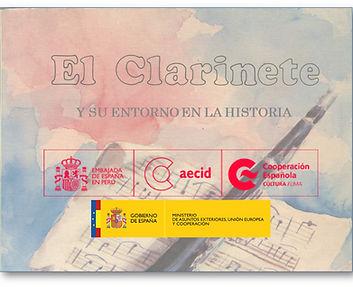"""""""El Clarinete y su entorno en la historia"""", 2ª Edición, revisada y ampliada, de D. Juan Vercher: un libro internacional"""