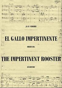 """La Editorial Anacrusa y NBM sortean una partitura completa de """"El Gallo Impertinente"""""""