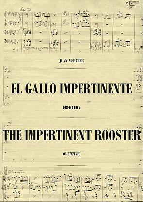 Obertura El Gallo Impertinente Juan Vercher