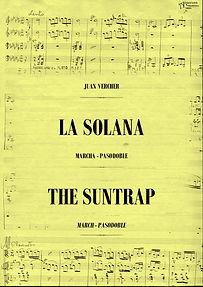 """La Editorial Anacrusa y NBM sortean una partitura completa de """"La Solana"""""""