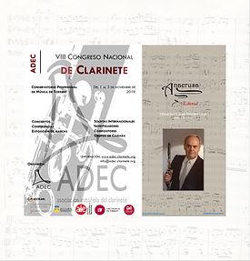 La Editorial Anacrusa participa en el próximo VIII Congreso Nacional de Clarinete en Torrent