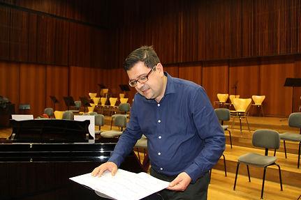 """Reducción para Piano del Concierto para Clarinete y Banda """"Heiligenstadt"""""""