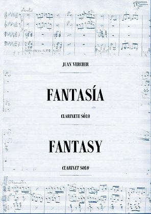 Solo de Clarinete Fantasía Juan Vercher