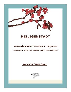 HEILIGENSDADT. Fantasía para Clarinete en Sib y Orquesta