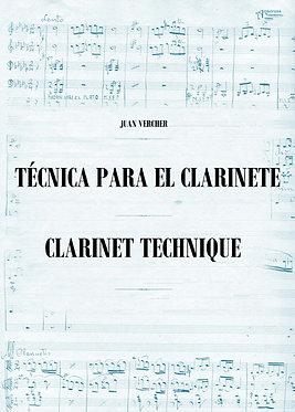 Técnica para el Clarinete