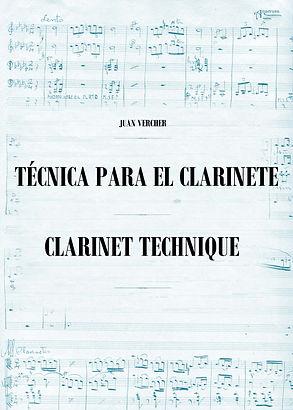 Técnica para el Clarinte Juan Vercher