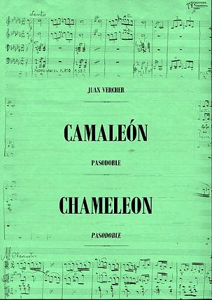 Pasodoble Camaleón Juan Vercher