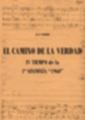 Concierto El Camino de la Verdad Juan Vercher