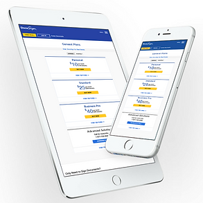 DocuSign Responsive