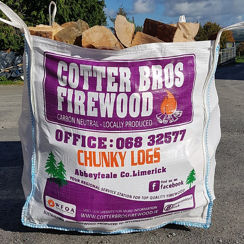 Bulk Bag - Chunky Logs
