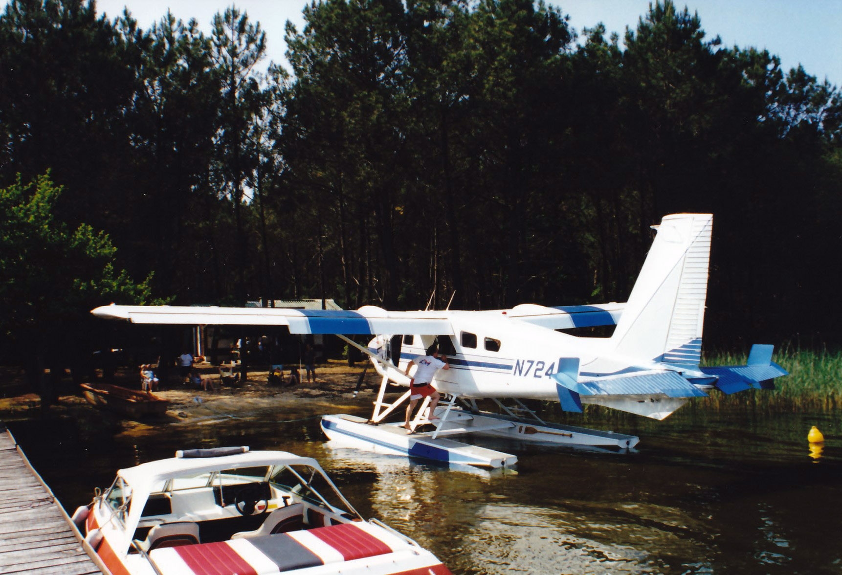 Grillades au bord du lac - 1998