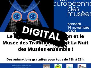 Nuit des musées en digital !