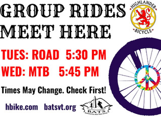 Bennington Group Rides