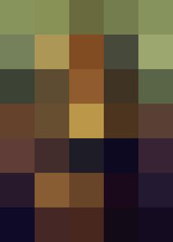 Mona Lisa (calculated)
