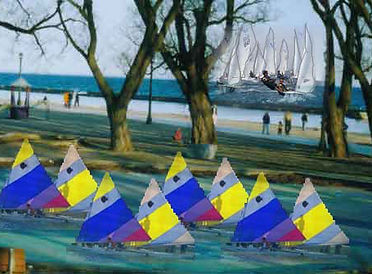 Across Oceans Arts - Boat Ballet in Budapest Park, Toronto,2006