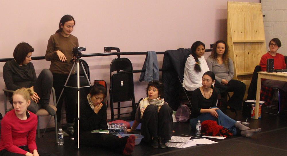 Mentors, Choreographic Marathon 2012