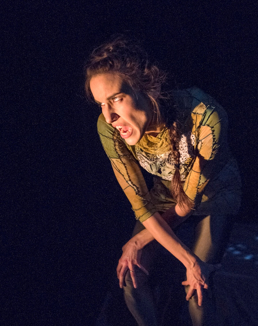 Olivia C. Davies - Choreographer, Performer. Photo by: Chris Randle
