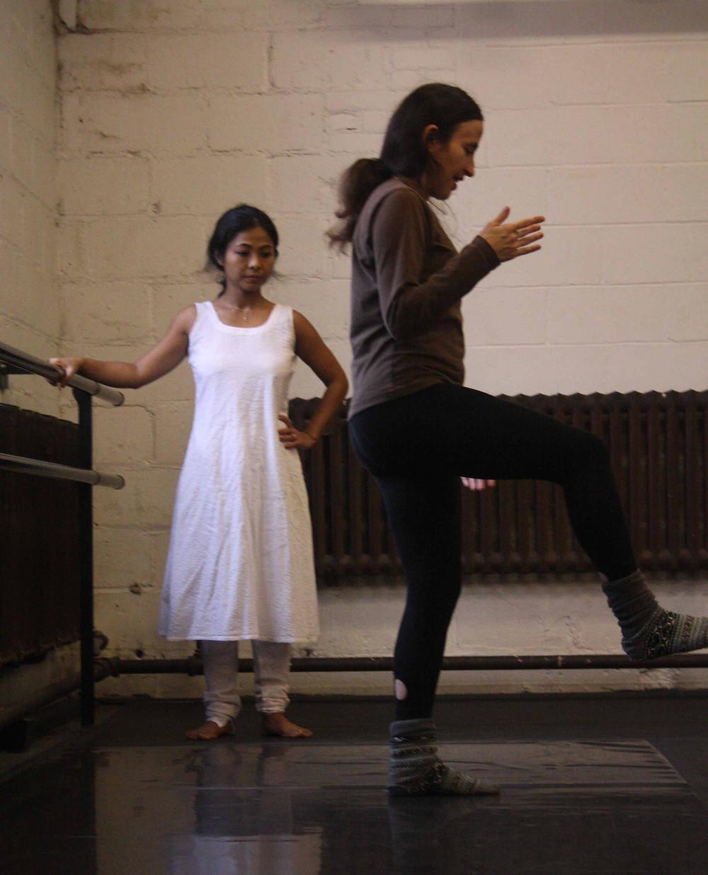 Nika Stein (choreographer) Fabiola Ugarte, Deepali Lindblom, Yui Ugai (interpreters) Montreal and Baie Comeau Quebec