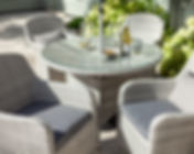 curve_4_seat_round_dining_set_cool_grey_