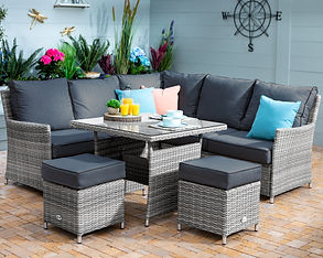 Westbury Ash Square Casual Dining Set02.