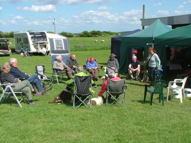 SOUTH YORKSHIRE ENGLISH SPRINGER SPANIEL RESCUE - MAY CAMPING WEEKEND - book your place now !!!